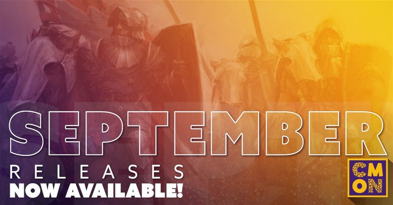 September Releases Available From CMON - Tabletop Gaming