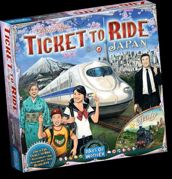 Days of Wonder Announces Ticket to Ride: Japan