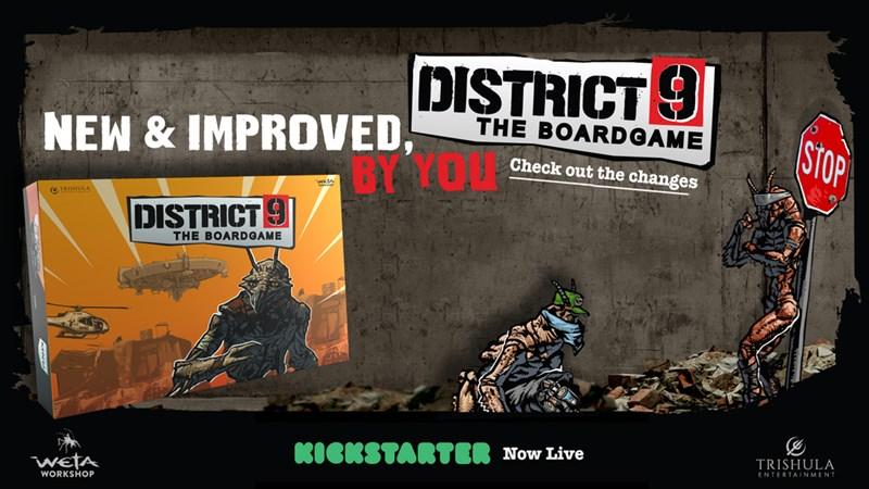 District 9: The Board Game Up On Kickstarter