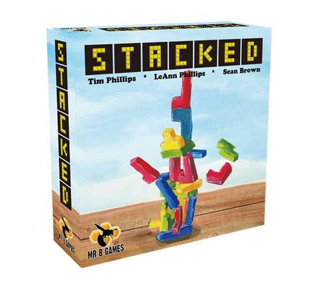 Stacked Card/Dexterity Game Up On Kickstarter