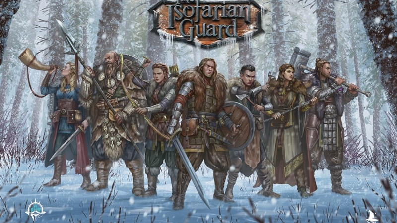 The Isoforian Guard Board Game Up On Kickstarter