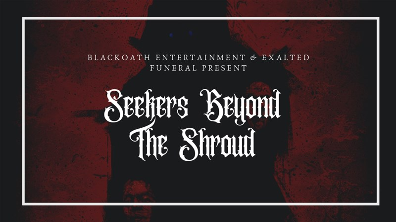 Seekers Beyond the Shroud Occult Solo RPG Up On Kickstarter
