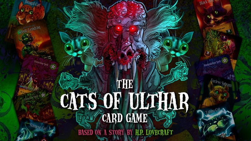 The Cats of Ulthar Card Game Up On Kickstarter