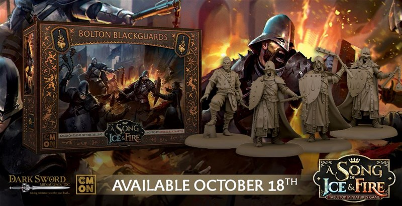 CMON Previews Bolton Blackguards For the A Song of Ice and Fire: Tabletop Miniatures Game