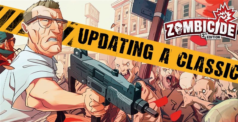 CMON Posts Changes To Zombicide For 2nd Edition
