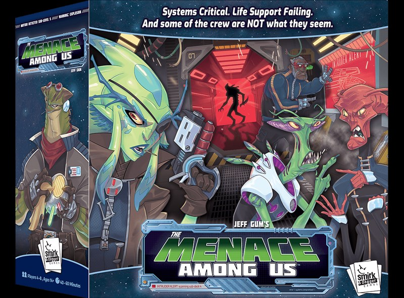 The Menace Among Us Now Available From Smirk and Dagger Games