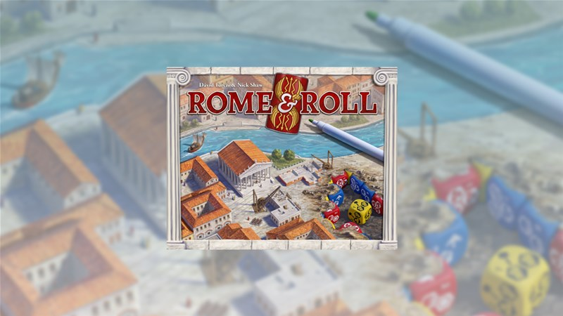 Rome & Roll Board Game Up On Kickstarter