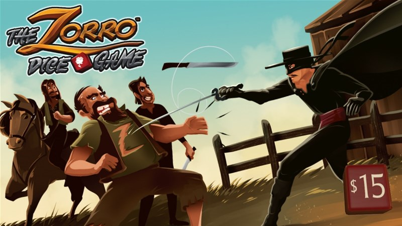 The Zorro Dice Game Up On Kickstarter