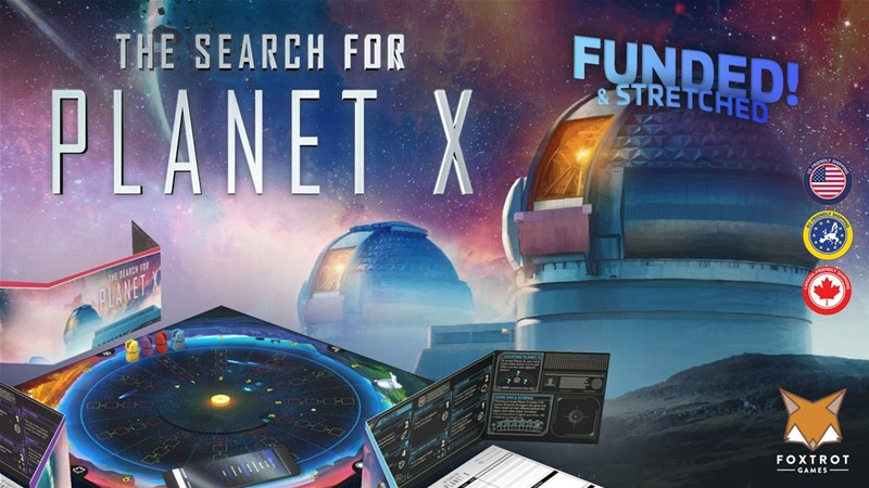 The Search for Planet X Board Game Up On Kickstarter