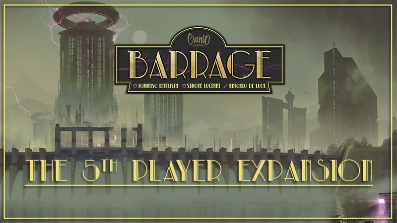 Barrage: The 5th Player Expansion Up On Kickstarter