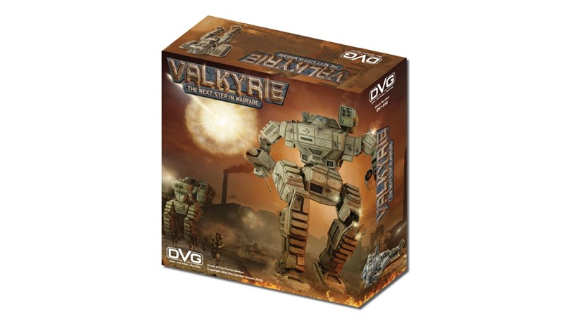 Valkyrie Solo Miniatures Board Game Up On Kickstarter