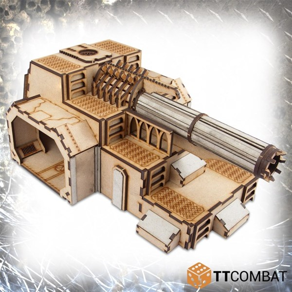 Sci Fi Gothic Scenics Fortified Power Station TTCombat 28-30mm scale