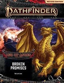 Broken Promises Adventure Now Available For Pathfinder