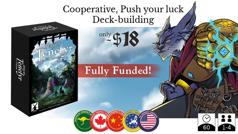 House of Tenefyr: The Second Curse Expansion Up On Kickstarter