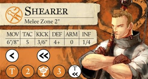 Steamforged Previews Shearer For Guild Ball