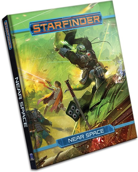 Paizo Look Inside Near Space Book for Starfinder