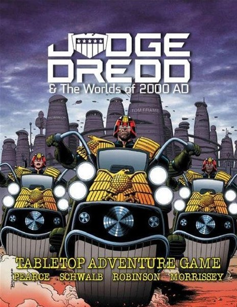 Judge Dredd RPG Now Available From Modiphius