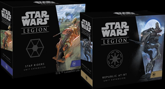 Fantasy Flight Announces Two New Support Units For Star Wars: Legion