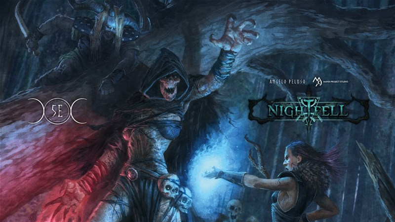 Nightfell Horror Fantasy RPG Setting Up On Kickstarter