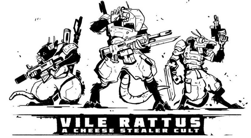 One Page Rules Announces Cult of Vile Rattus Kickstarter