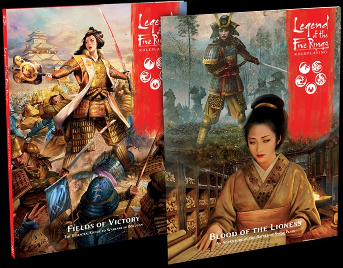 New Sourcebook and Adventure Announced for Legend of the Five Rings RPG