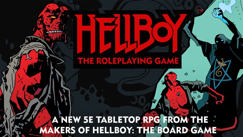 Hellboy The Roleplaying Game Coming to Kickstarter