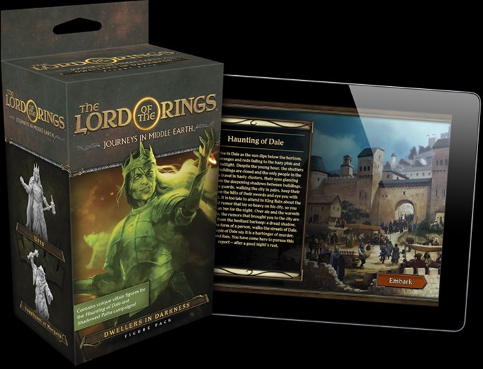 Fantasy Flight Announces Dwellers in Darkness Campaign for Journeys in Middle-earth