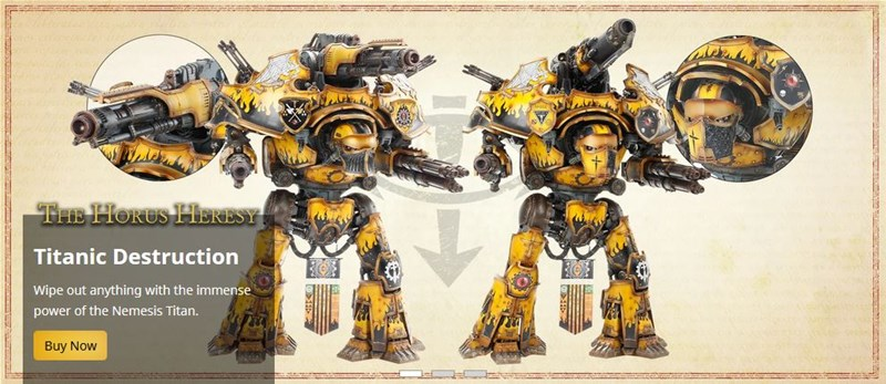 New Titan Chassis and Extras Available From Forge World