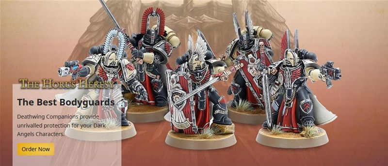 New Deathwing Figures Available to Pre-Order From Forge World