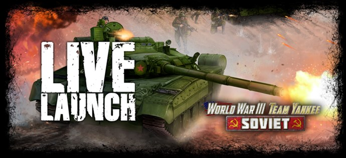 Team Yankee Soviets Live Launch Coming Soon