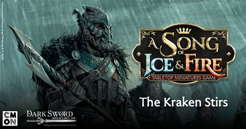 CMON Previews House Greyjoy For A Song of Ice and Fire