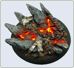 Chaos Bases WRound 50mm
