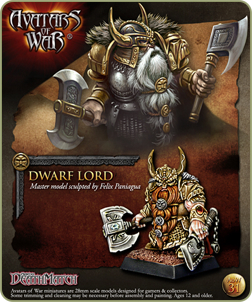 Dwarf Lord in battle armor