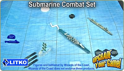 Submarine combat set