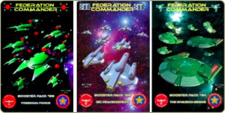 Federation Commander Boosters