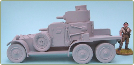 Lanchester MkII 6x4 Armoured Car