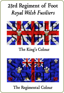 The Colours of TheRoyal Welsh Fusiliers