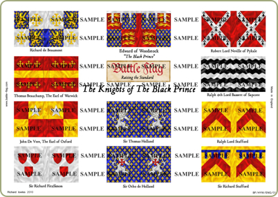 Hundred Years War flags