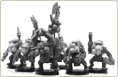 Ork Kommando Upgrade Set