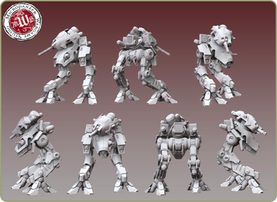 light assault warbot preview