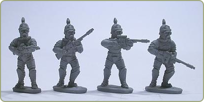 Prussian Stormtroopers with Aether rifles