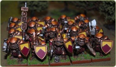 painted Dwarves
