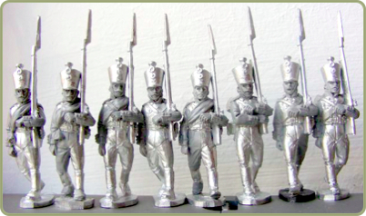 Musketeers front view