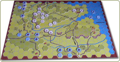 Fort Donelson 3D boardgame
