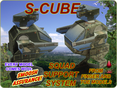 S-Cube Squad Support System