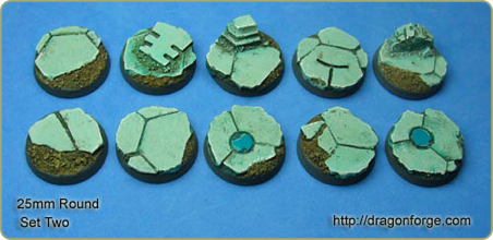 25mm round bases