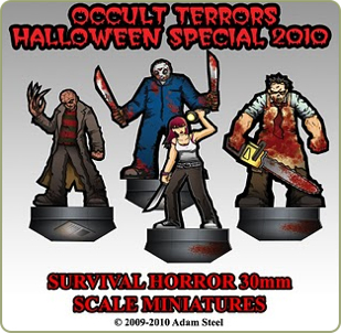 Survival Horror Occult Terrors Halloween Special 2010