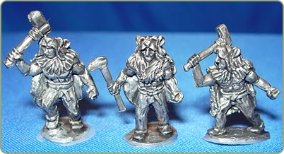 Bear Clan Warriors w/ Axes