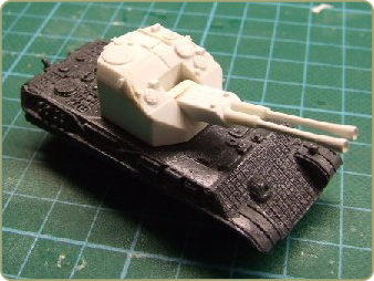 Coelian Panther Flak turret
