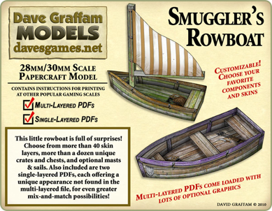 New 30mm paper models from Dave's Games - Tabletop Gaming News – TGN